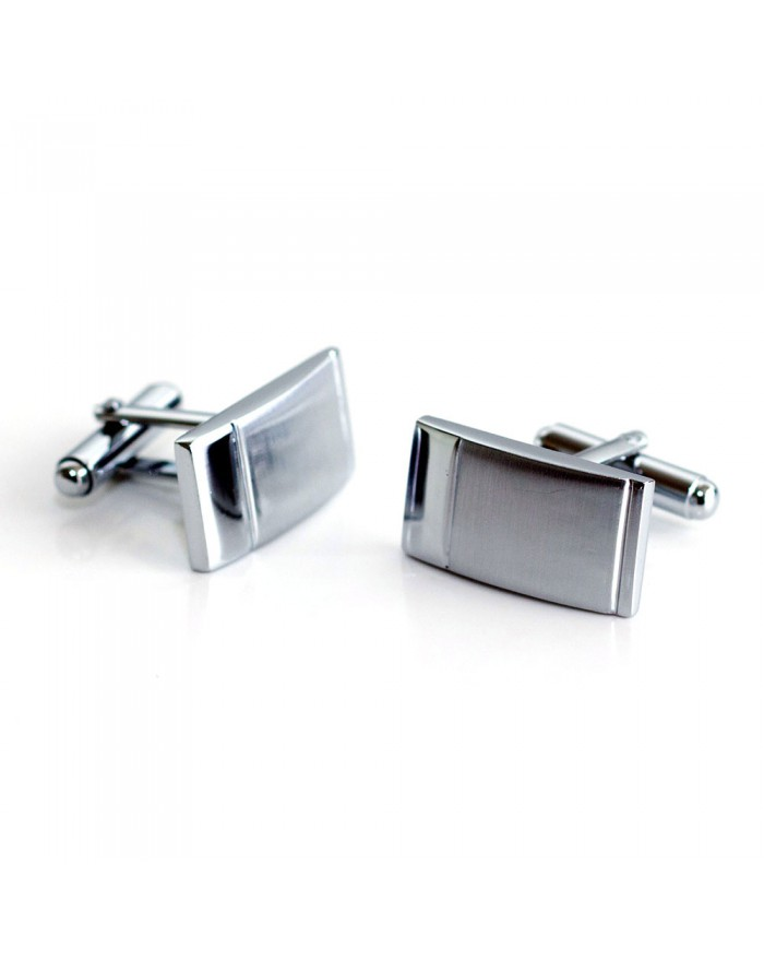 Brushed Finish Cufflinks