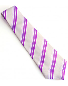 Wide Striped Tie
