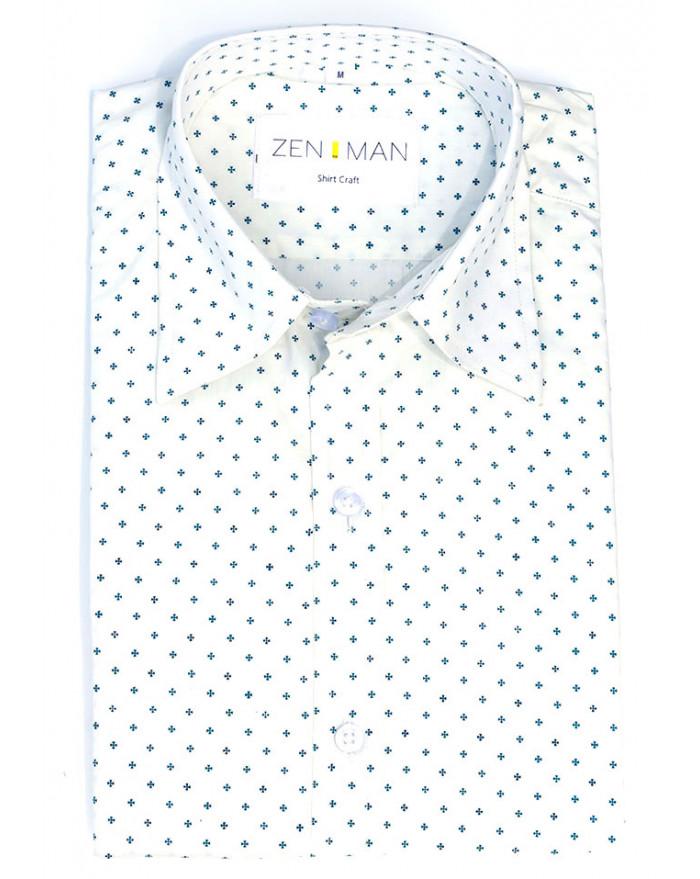 Halbert Print Shirt
