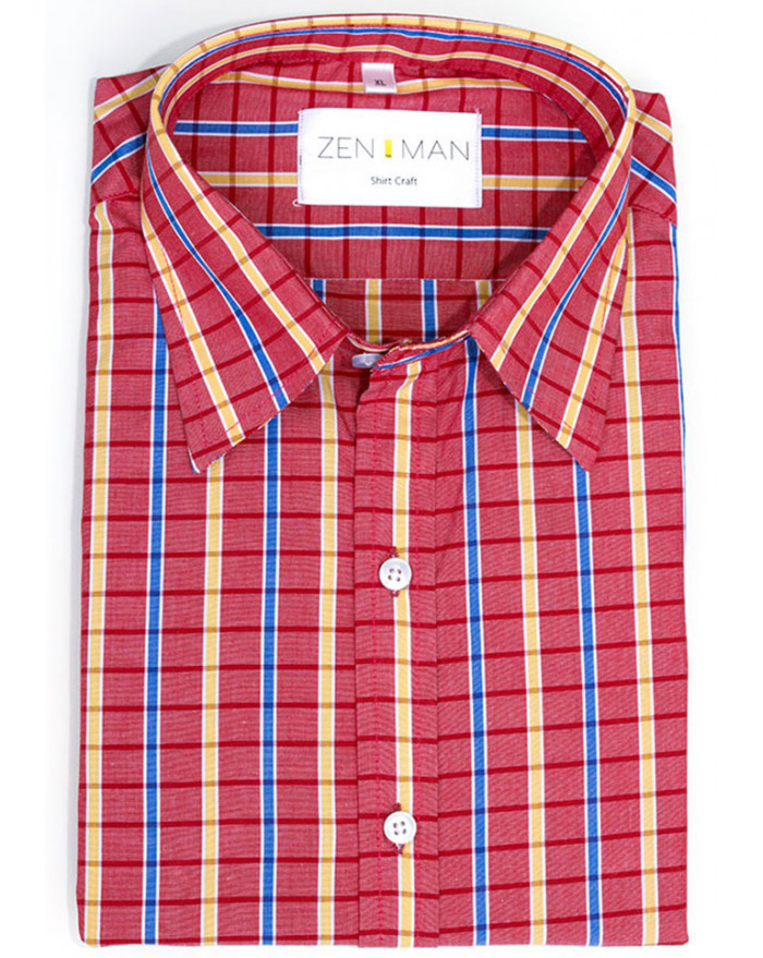 Cuthbert Check Shirt
