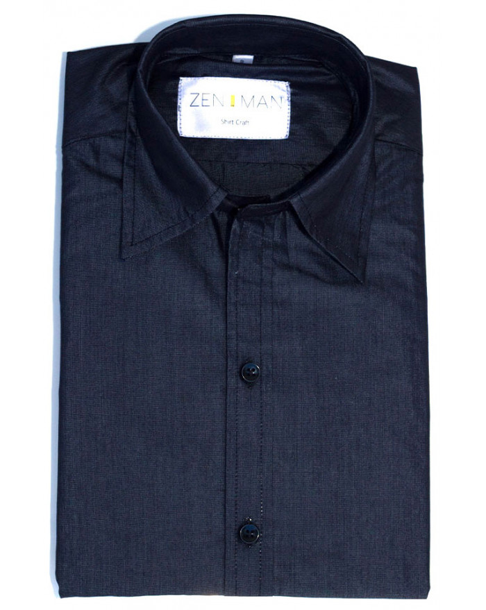 Chambray Black Shirt