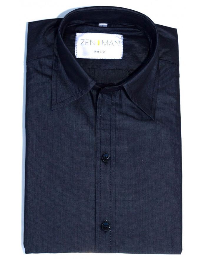 Chambray Black Shirt
