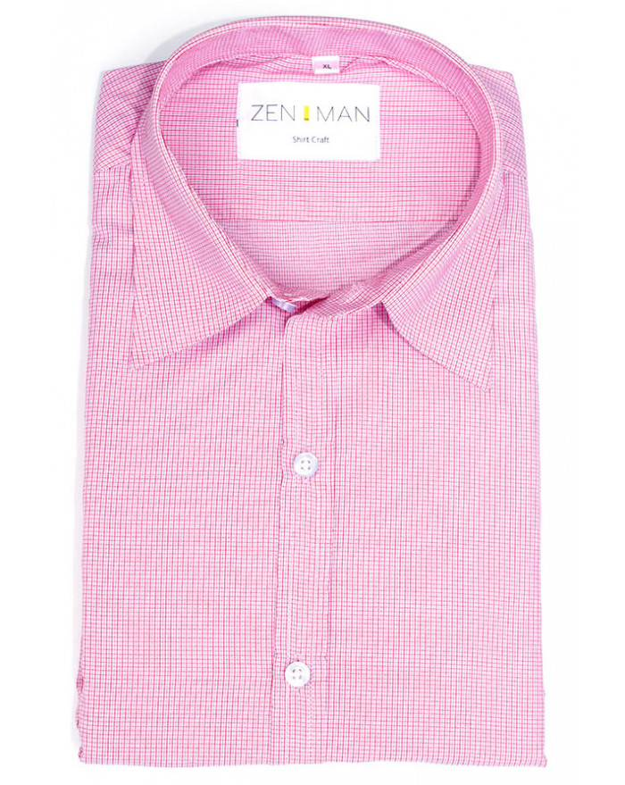 Salmon Check Shirt